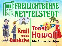 Externer Link: Freilichtbühne Nettelstedt - Theaterstücke 2018 - Banner