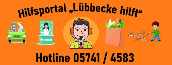 Bild vergrößern: Lübbecke hilft_Banner