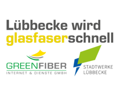 Banner Glasfaserausbau