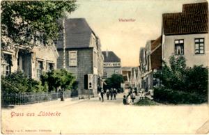 Westerthor um 1895