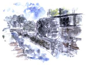 Mühle an der Ronceva