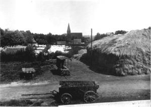 Bleiche an der Königsmühle um 1910