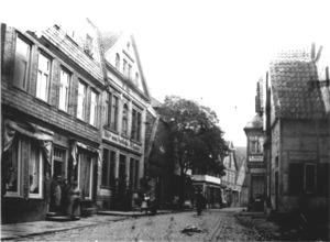 Lange Straße, um 1890