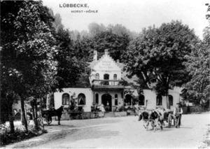 Horst's Höhe mit Gasthaus Sölter, um 1900