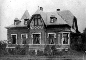 Geistwall 24, um 1900