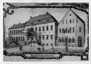Königliches Kreisgericht, um 1860