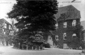 Burgmannshof, um 1925