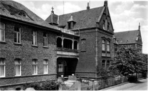 Kreiskrankenhaus, um 1930
