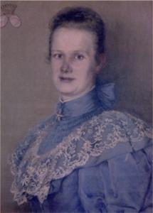 Emilie Freifrau von Ledebur (Original: Crollage)