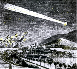 Komet nimmt Kurs auf den Wurzelbrink