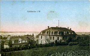 Postkarte Landratsamt, 1912