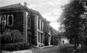 Weingartenstraße, um 1925