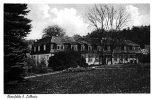 Gut Obernfelde, Postkarte 1937