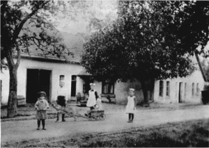 Gasthof Rosengarten um 1925